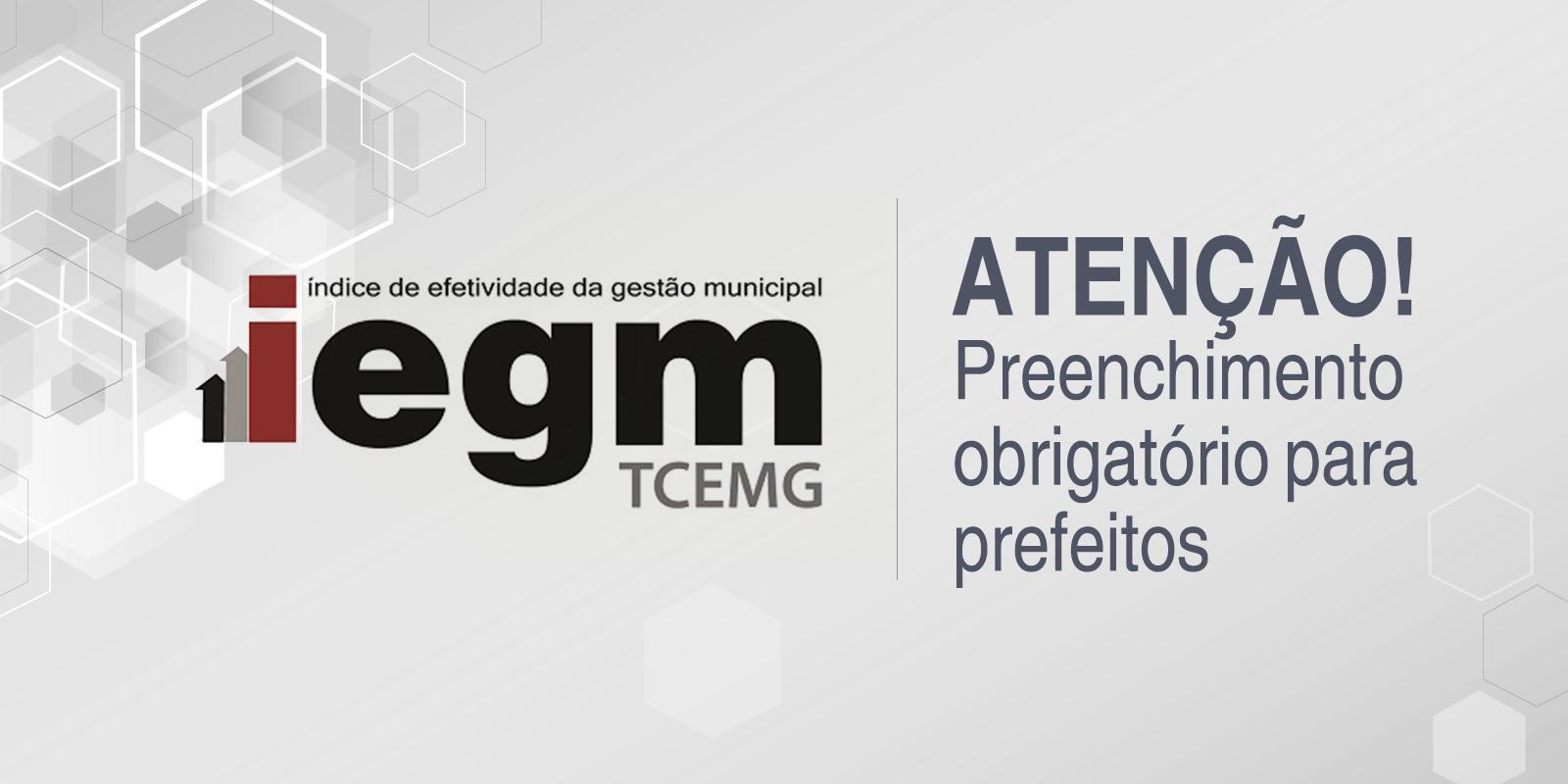 TCEMG prorroga prazo para envio obrigatório dos questionários do IEGM