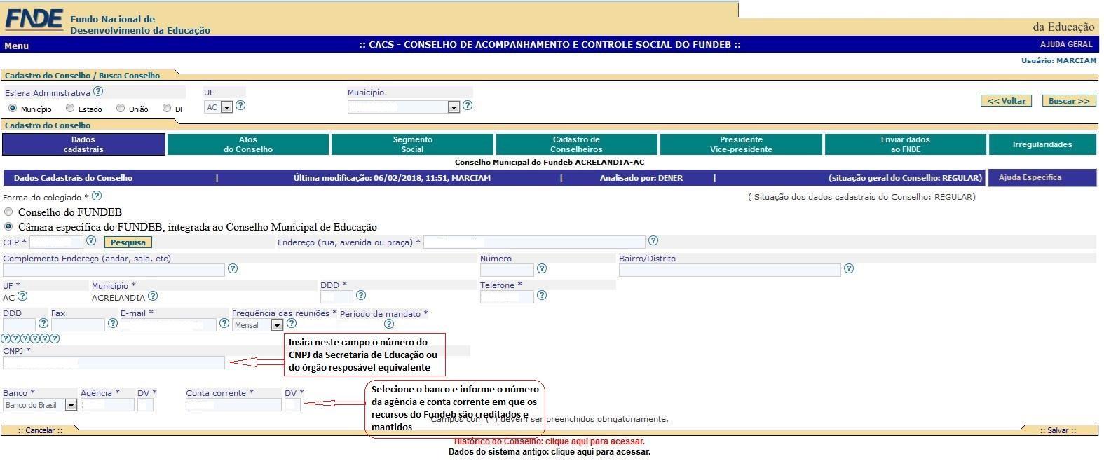 Aviso CACS-Fundeb - Portaria Conjunta