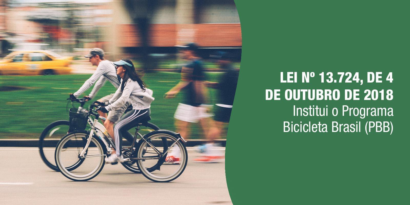 O objetivo é incentivar o uso da bicicleta visando a melhoria da mobilidade urbana.