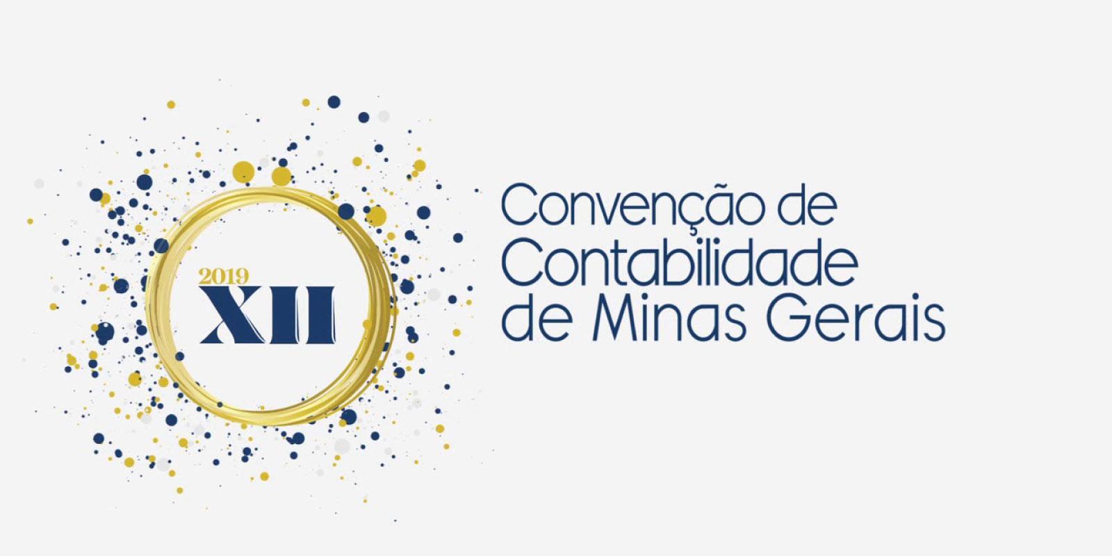 XII Convenção de Contabilidade de Minas Gerais de 5 a 7 de junho.